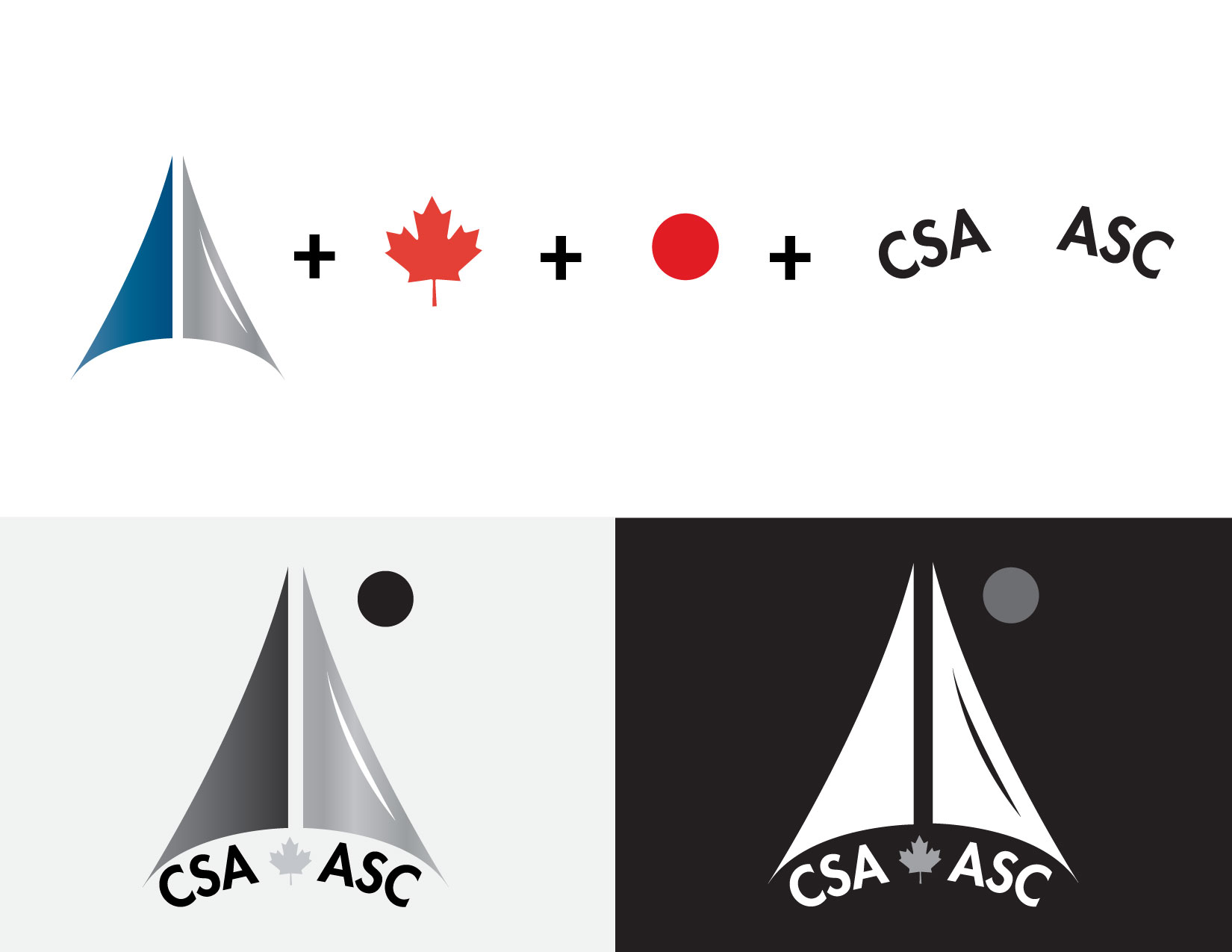 Canadian Space Agency Logo Structure