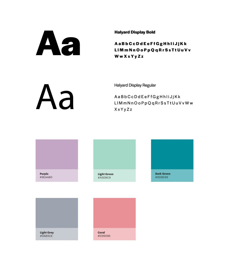 Diana Hojdan InShow Typography Colours